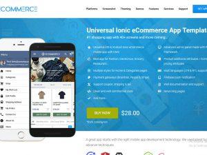 ionicecommerce